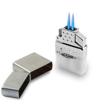 Blazer Blazer Top-Z Dual Flame Butane Refillable Insert