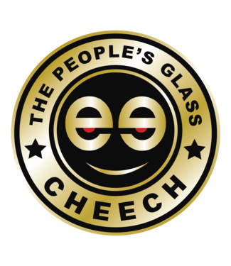 "Cheech Glass Cheech Glass 8"" Dab Mat Gold"
