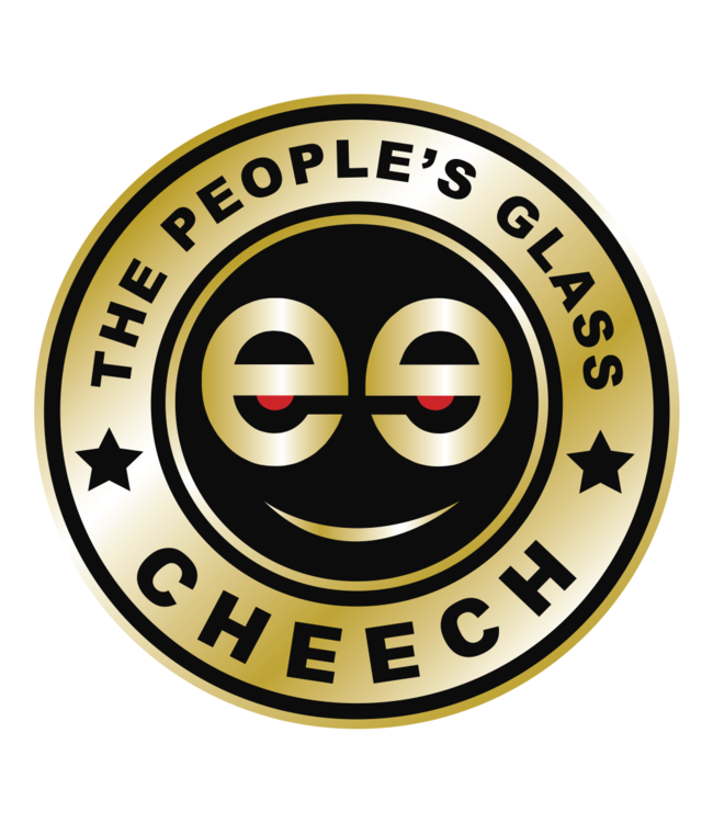 """Cheech Glass Cheech Glass 8"""" Dab Mat Gold"""