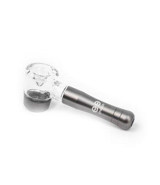"""Cheech Glass Cheech Glass 4"""" Aluminum & Glass Hand Pipe"""
