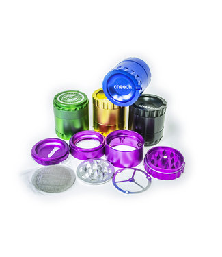 "Cheech Glass Cheech 2.5"" 4-Piece Grinder"