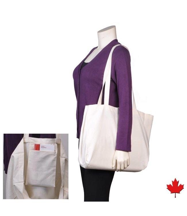 Eco-Essentials Hemp/OC Tote Bag Blue