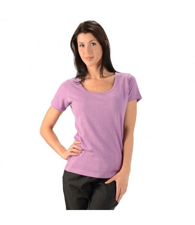 Eco-Essentials Women's Hemp/OC Scoop Neck T-shirt
