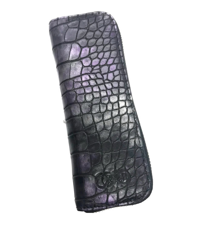 Erbanna Vape Pen Case - Penny - Purple Croc