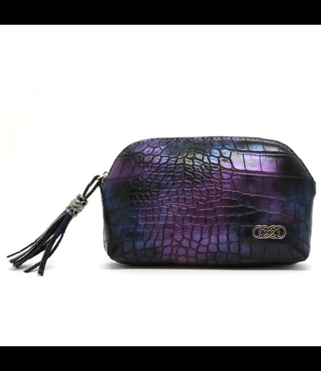 Erbanna Erbanna Smell Proof Carry Bag - River - Purple Croc