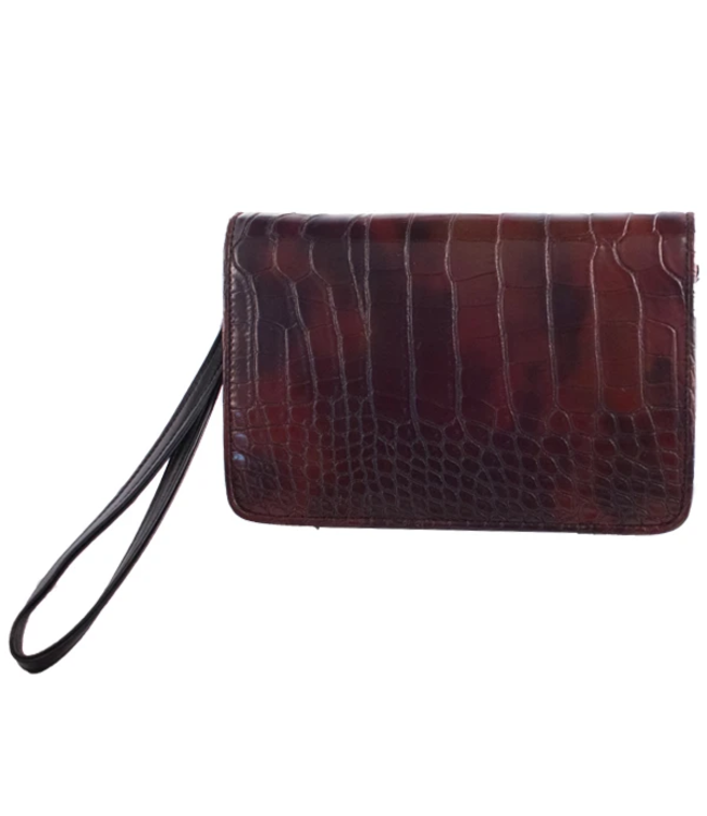 "Erbanna 7.5"" x 5"" x 1.5"" Smell Proof Bag - KAM Crocodile"