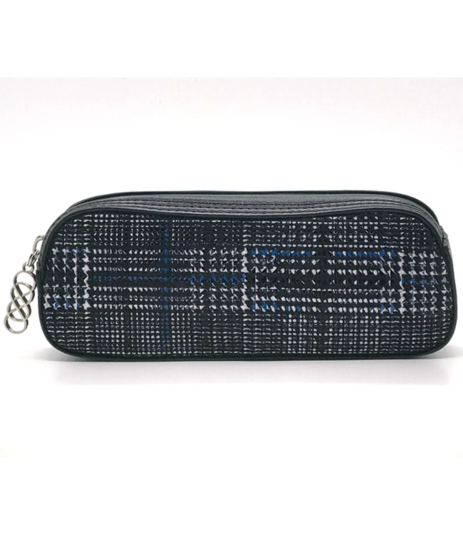"Erbanna Erbanna 7.5"" x 2.8"" x 2"" Smell Proof Small Carry Case - Rae - Blue Plaid"