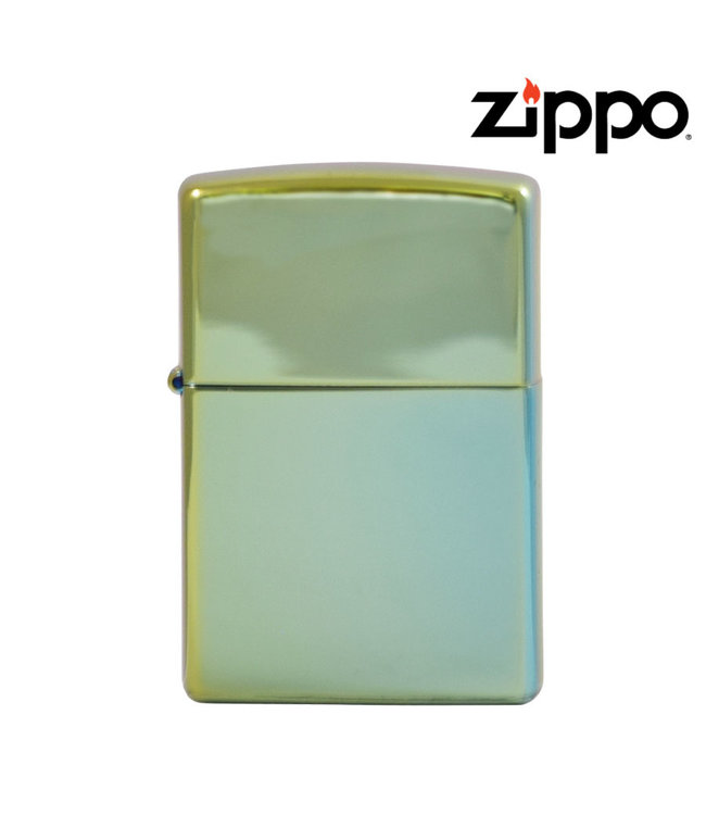 Zippo Lighter High Polish Teal