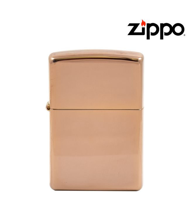 Zippo Lighter High Polish Rose Gold