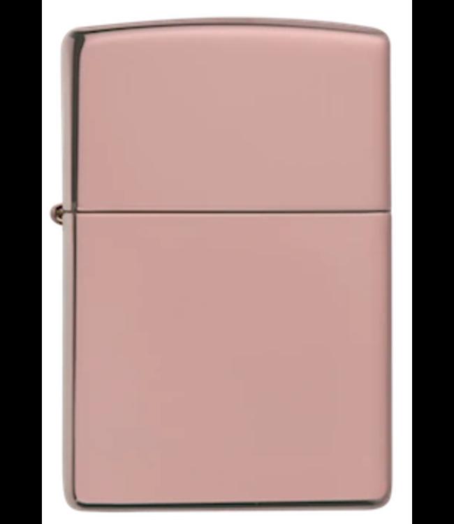 Zippo Zippo Lighter High Polish Rose Gold