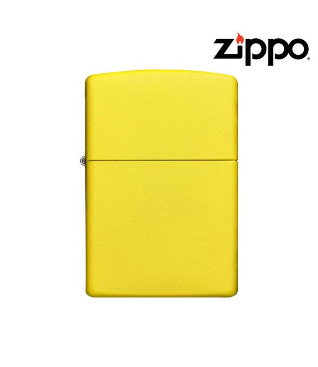 Zippo Lighter Lemon Matte