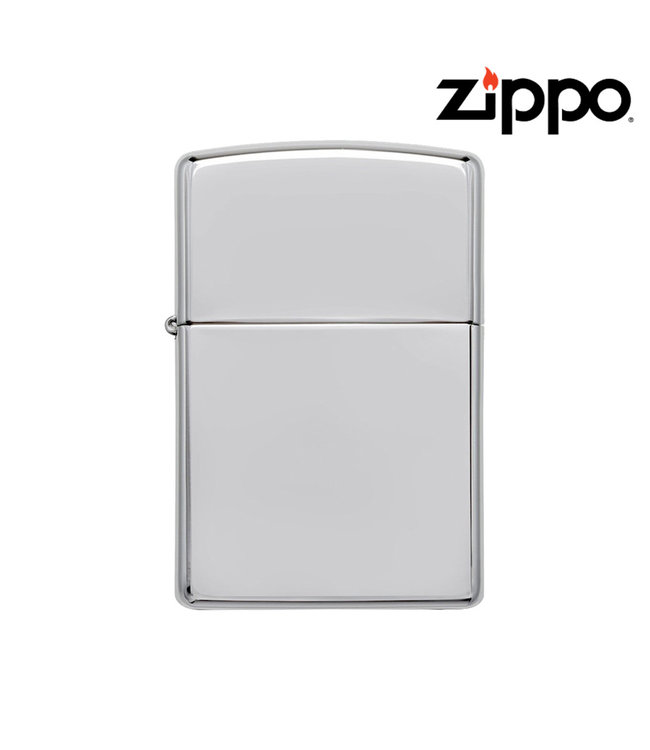 Zippo Lighter High Polish Chrome Armour