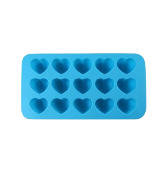 Dope Molds Dope Molds Silicone Gummy Mold - Hearts - Blue