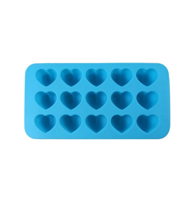 Dope Molds Dope Molds Silicone Gummy Mold Hearts Blue