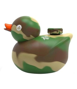 PieceMaker PieceMaker Silicone Rubber Camo Duck Water Pipe