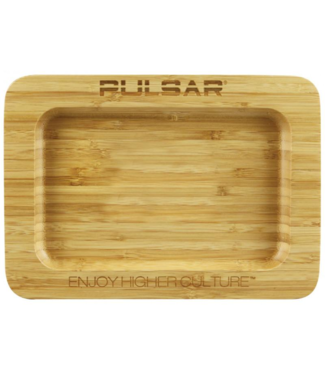 "Pulsar 9.75"" x 7"" Bamboo Rolling Tray by Pulsar"