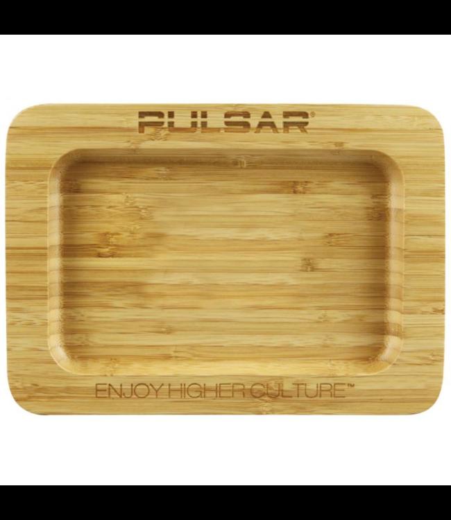 "Pulsar 9.75"" x 7"" Bamboo Rolling Tray by Pulsar"