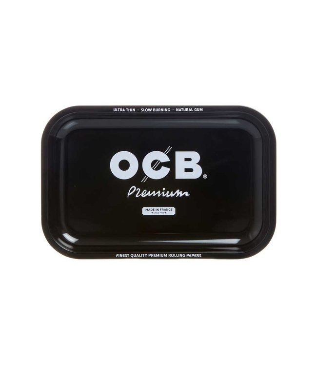 "OCB OCB 11.5"" x 7.5"" Medium Metal Rolling Tray - Premium"