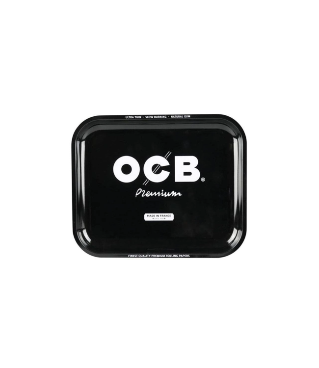 "OCB OCB 7.5"" x 5.5"" Small Metal Rolling Tray - Premium"