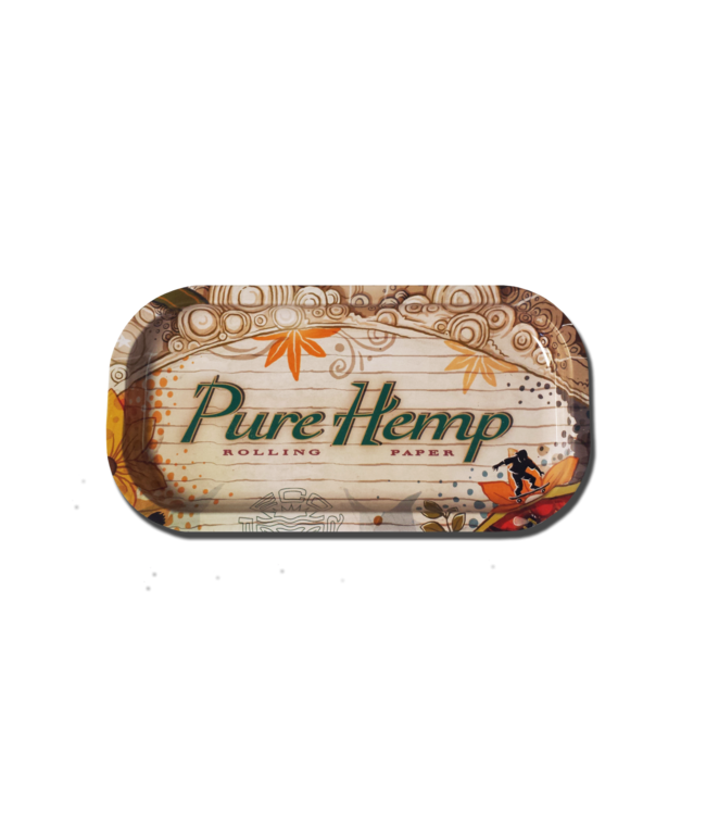 "Pure Hemp Pure Hemp Rolling Tray 8"" x 4"" - Mini"