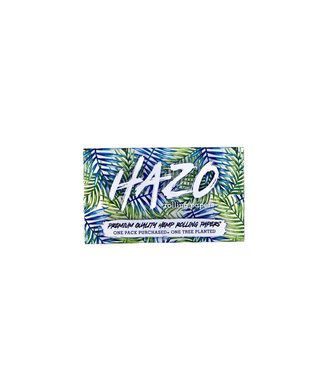 HAZO HAZO Unbleached 100% Hemp Rolling Papers 1 1/4 with Tips