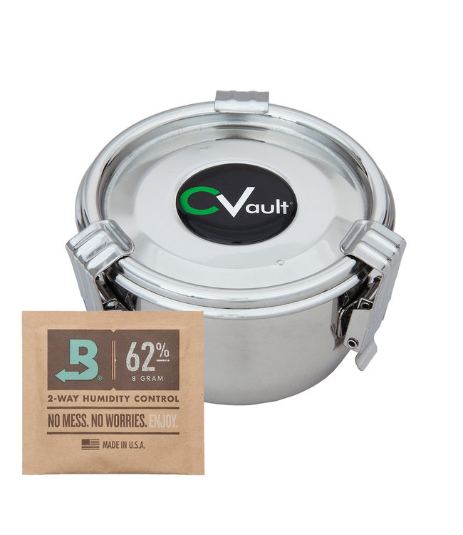 "CVault w/ 8g Boveda - 3.25"" x 1.75"" Small"