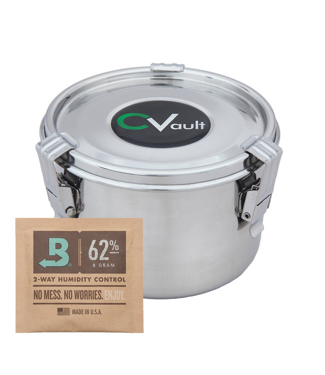 "CVault w/ 8g Boveda - 4"" x 2.67"" Medium"