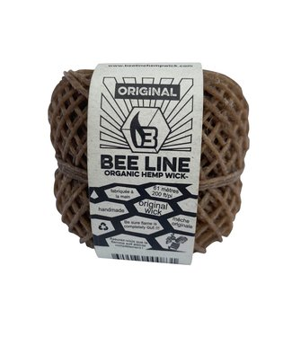 Bee Line Bee Line Organic Hemp Wick Thin Spool 200'