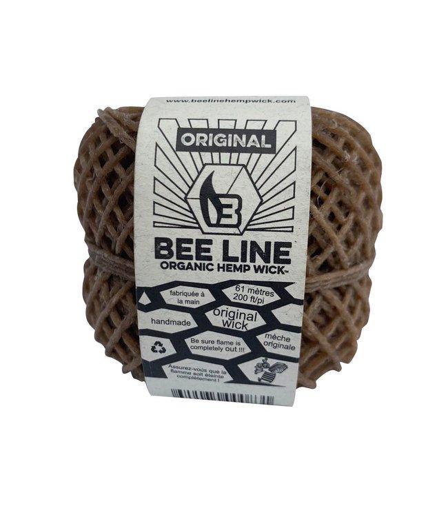 Bee Line Bee Line Organic Hemp Wick Thin Spool 200'