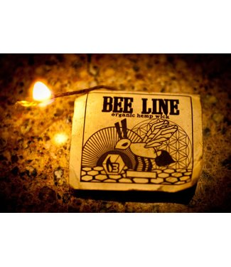 Bee Line Bee Line Organic Hemp Wick, Regular (9' Pack)