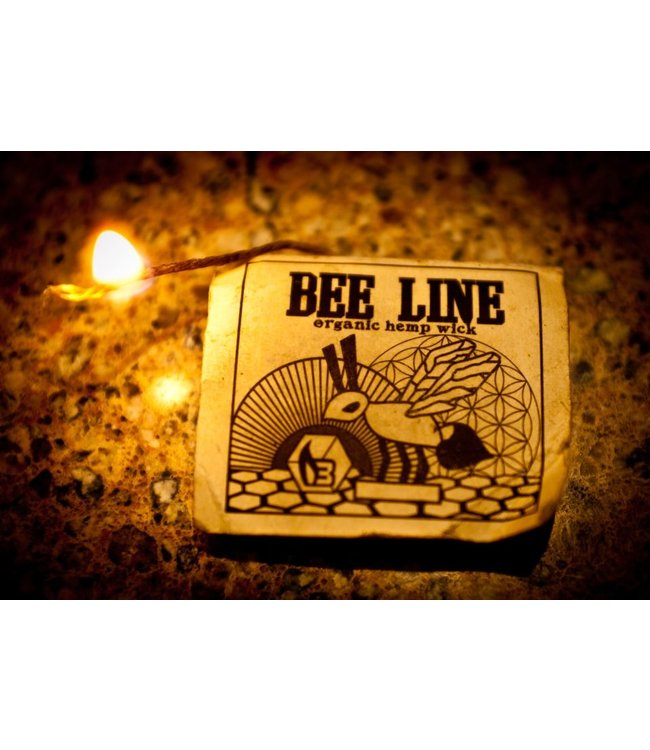 Bee Line Bee Line Organic Hemp Wick, Regular (9' Pack)
