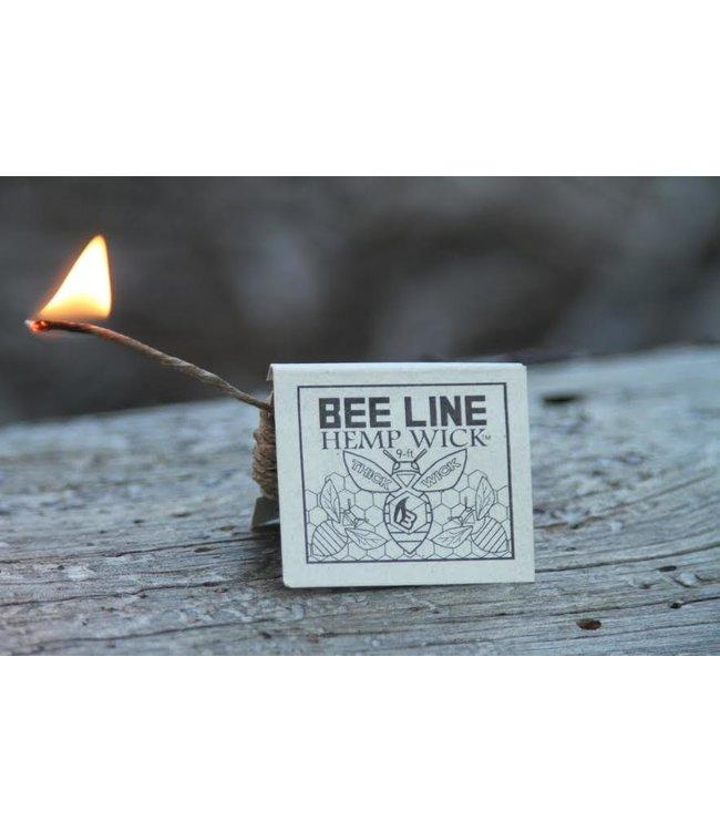 Bee Line Bee Line Organic Hemp Wick, Thick (9' Pack)
