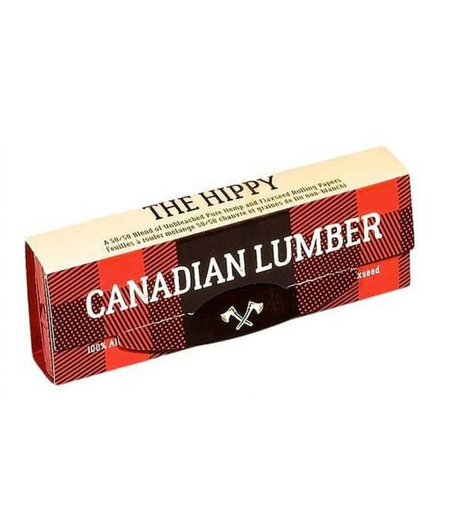 Canadian Lumber Canadian Lumber Hippy Hemp/Flax Papers, 1 1/4 w Tips