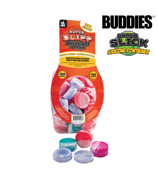 Buddies Buddies Super Slipp Large Cylinder Silicone Container 11ml