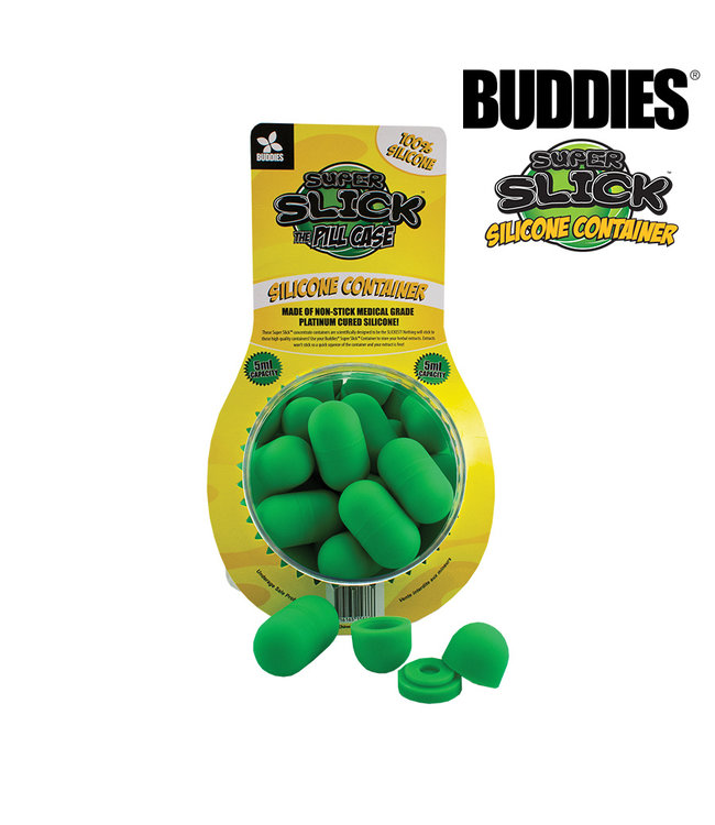 "Buddies Buddies Super Slick ""The Pill Case"" Silicone Container 5ml"
