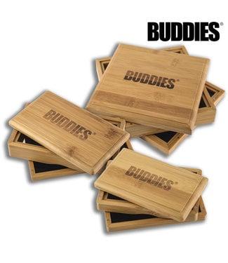 Buddies Buddies Sifter Box Bamboo Small