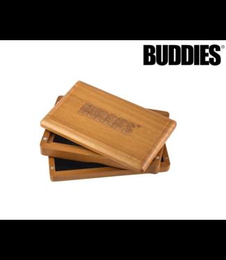 Buddies Buddies Sifter Box Stained Pine Medium