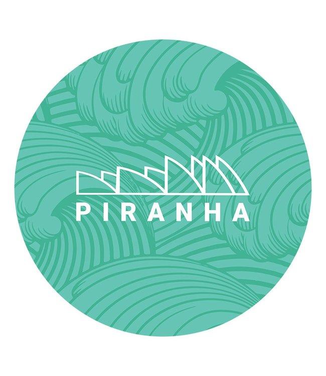 """DabPadz DabPadz 8"""" Round Piranha Fabric Top 1/4"""" Thick"""