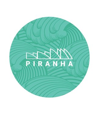 "DabPadz DabPadz 5"" Round Fabric Top 1/4"" Thick - Piranha"