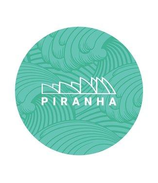 """DabPadz DabPadz 5"""" Round Piranha Fabric Top 1/4"""" Thick"""