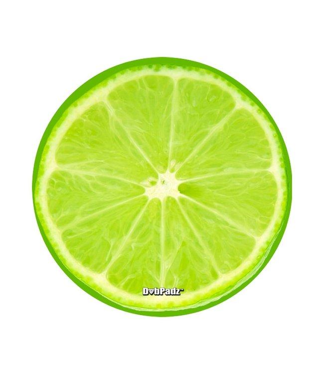 "DabPadz DabPadz 5"" Round Lime Fabric Top 1/4"" Thick"