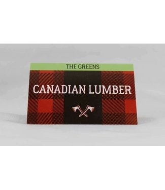 Canadian Lumber Canadian Lumber Greens Hemp Papers, 1.0 Double Window