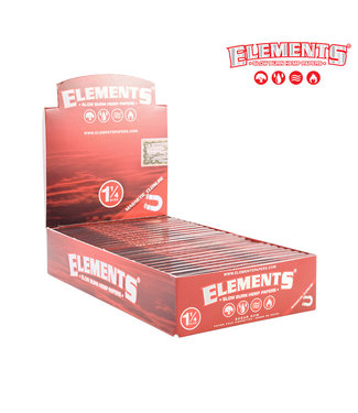 Elements Elements Red Hemp Papers 1 1/4 (Box of 25)