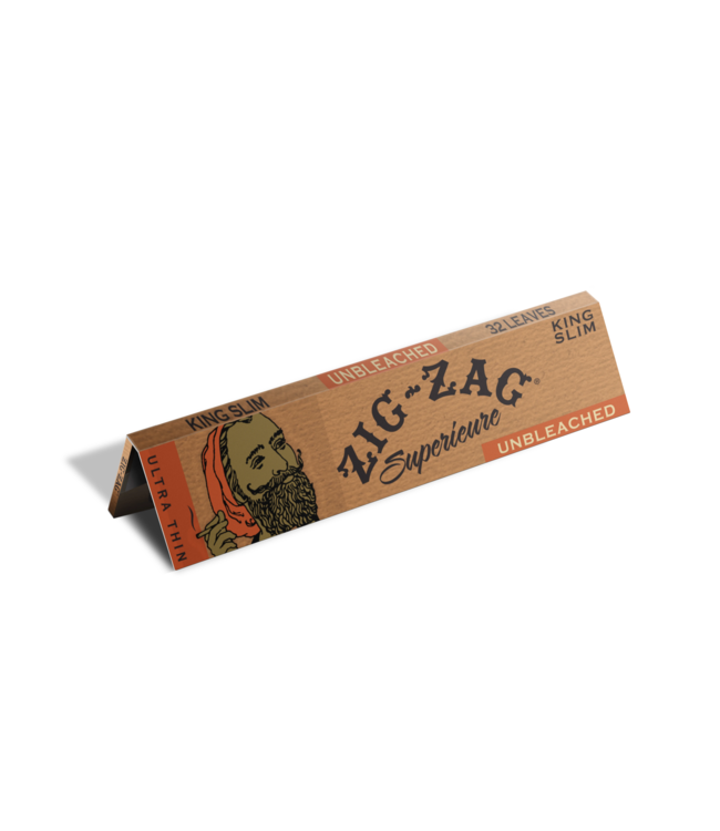 Zig Zag Zig Zag Superieure Ultra Thin Unbleached King Size