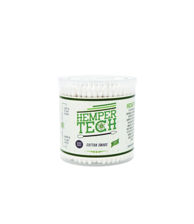 Hemper Tech Wooden Cotton Buds/Swabs 200 per Tub