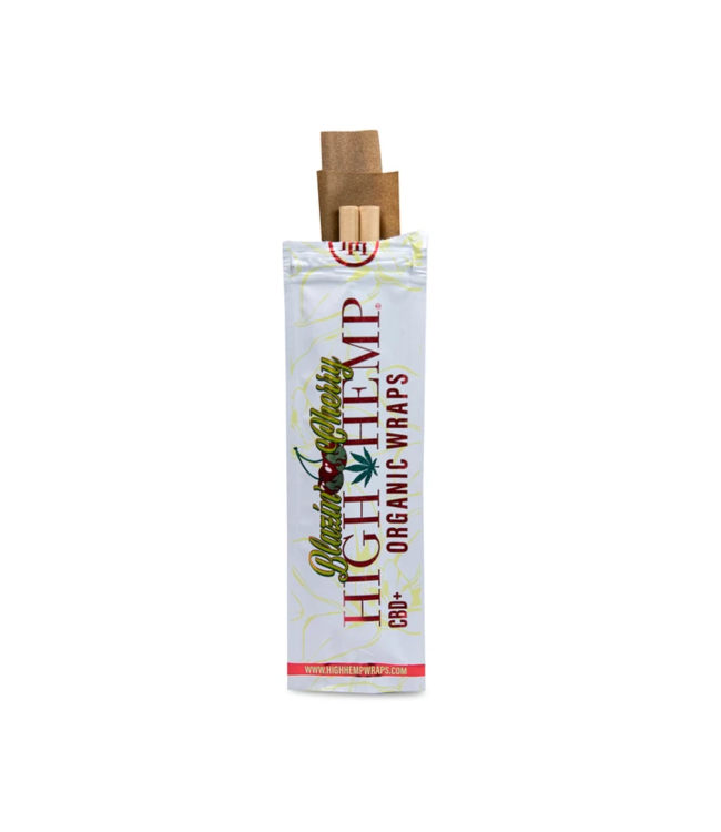 High Hemp High Hemp Organic Wraps - Blazin' Cherry