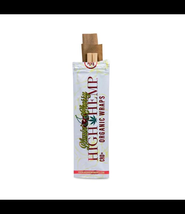High Hemp High Hemp Organic Wraps Blazin' Cherry