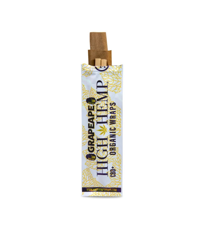 High Hemp High Hemp Organic Wraps - Grape Ape
