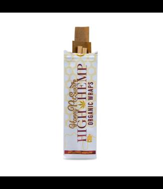 High Hemp High Hemp Organic Wraps Honey Pot Swirl