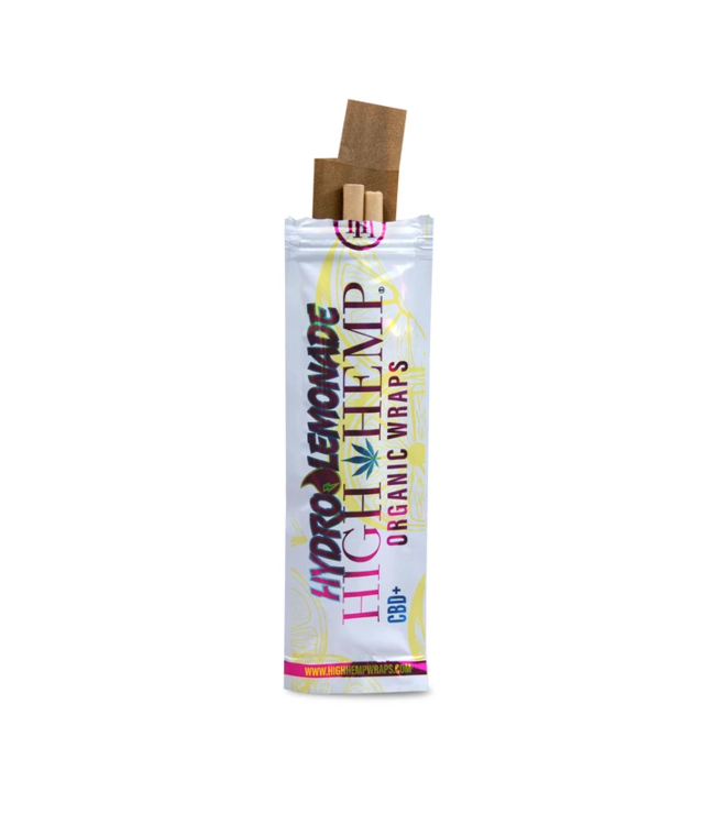 High Hemp High Hemp Organic Wraps - Hydro Lemonade